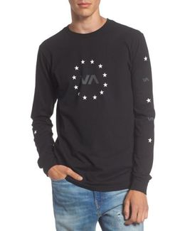 Star Circle Graphic T-shirt