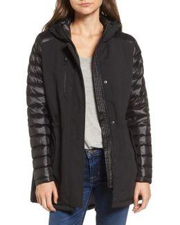 Mixed Media Soft Shell Jacket