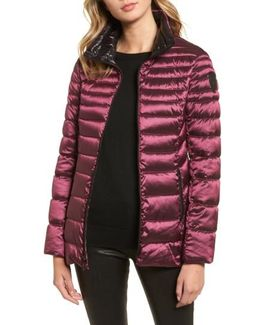 Packable Down Jacket, Red