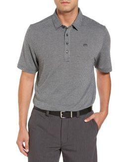 Lawrence Houndstooth Polo