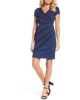 Stripe Sheath Dress
