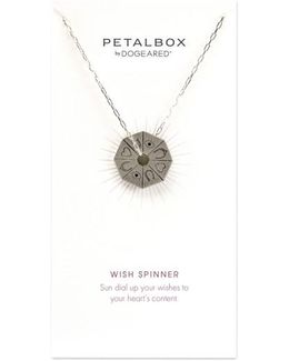 Petalbox Wish Spinner Pendant Necklace (nordstrom Exclusive)