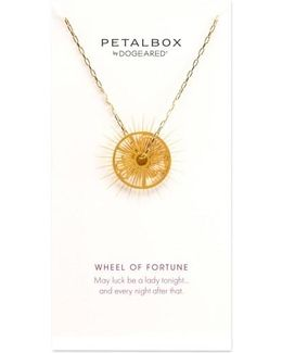 Petalbox Wheel Of Fortune Pendant Necklace (nordstrom Exclusive)