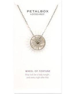 Petalbox Wheel Of Fortune Pendant Necklace (nordstrom Exclusive)