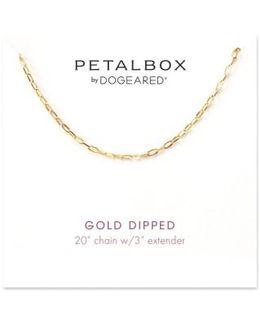 Petalbox Link Necklace (nordstrom Exclusive)