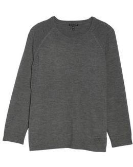 Round Neck Merino Sweater