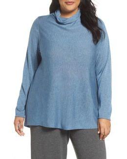 Scrunch Turtleneck Sweater