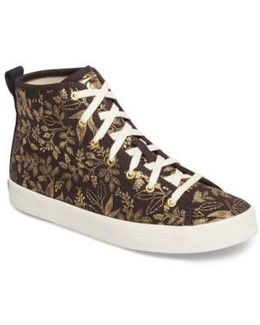 Keds X Rifle Paper Co. Queen Anne High Top Sneaker