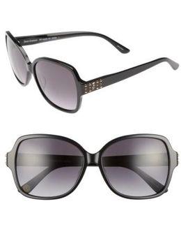 Shades Of 57mm Square Sunglasses