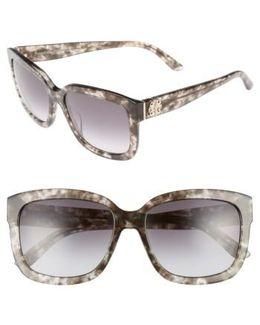 Shades Of 55mm Square Sunglasses - Havana