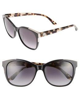 Shades Of 56mm Cat Eye Sunglasses