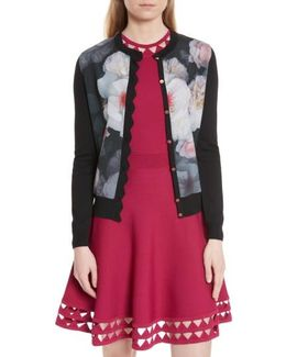 Shelsi Chelsea Floral Front Cardigan