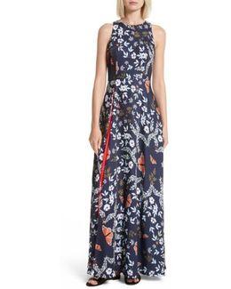 Saskae Kyoto Gardens Maxi Dress