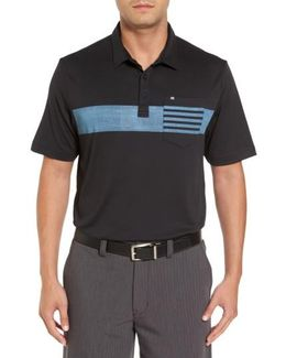 Russ Chest Stripe Pocket Polo