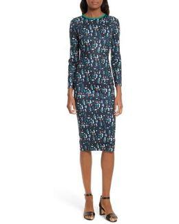 Kielder Print Body-con Dress