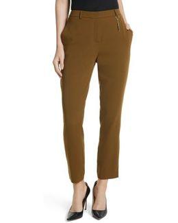 Baya Stripe Ankle Trousers