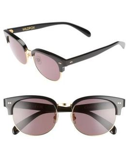 Clubhouse 50mm Semi-rimless Sunglasses