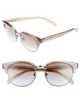 Clubhouse 50mm Semi-rimless Sunglasses - Galactic