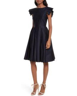 Gabrina Fit & Flare Dress