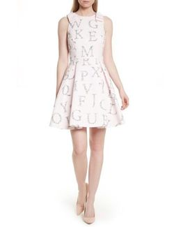 Zowey Unity Floral Bow Skater Dress