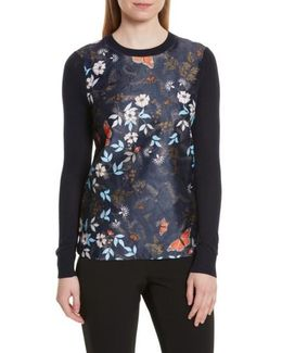 Khlo Kyoto Gardens Jacquard Sweater