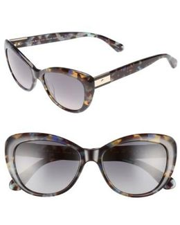Emmalyn 53mm Polarized Cat Eye Sunglasses