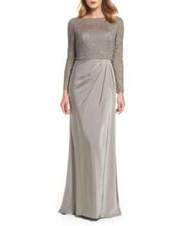 Bead Embellished Gown