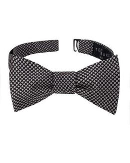 Ravishing Check Silk Bow Tie