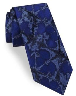 Web Abstract Wool Tie