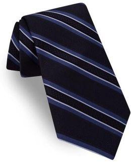 Jetset Stripe Silk Tie