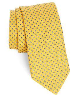 Small Dot Silk Tie