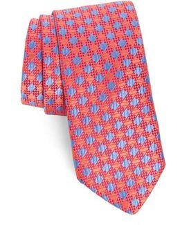 Ford Check Silk Tie