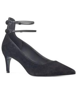 Sawtelle Double Ankle Strap Pump
