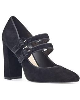 Dabney Double Strap Mary Jane Pump