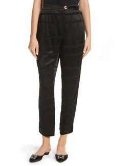 Steller Stripe Wrap Front Pants