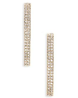 Linear Crystal Earrings