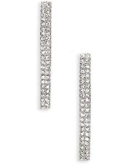 Linear Crystal Earrings