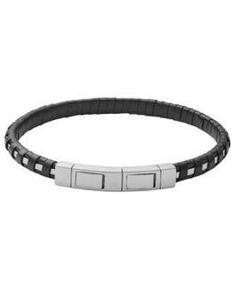 Venthir Leather Wrapped Bracelet
