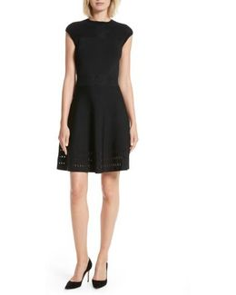 Aurbray Knit Skater Dress
