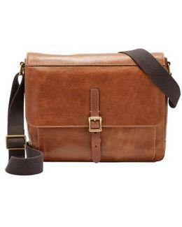 Defender Leather Messenger Bag