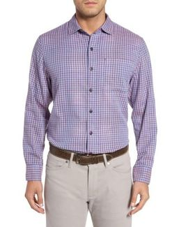Dual Lux Gingham Sport Shirt