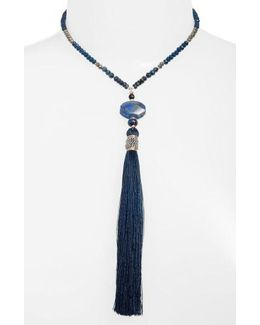 Extra Long Tassel Necklace