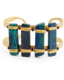 Ahlan Lapis Cuff Bracelet
