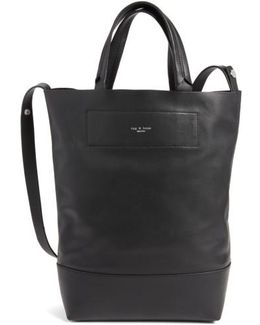 Walker Convertible Leather Tote