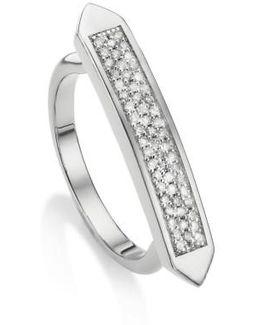 Baja Skinny Diamond Stacking Ring