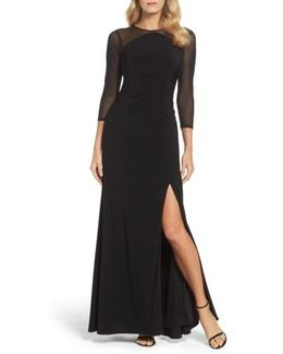 Illusion Jersey Gown
