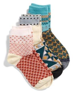 Triple The Fun 3-pack Socks, Blue