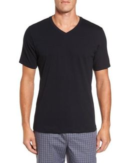 Living V-neck T-shirt