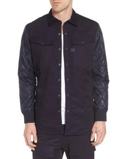3301 Hc Quilted Shirt Jacket