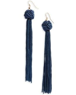 Knot Tassel Earrings